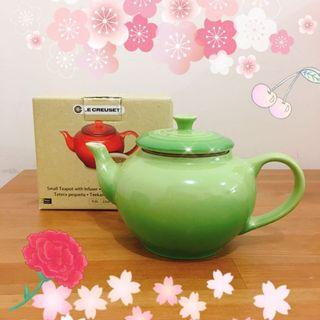 ✨🌸Le Creuset 全新 茶壺連茶隔 teapot Palm Tea