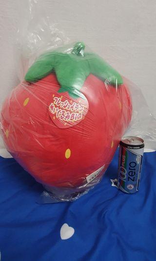 Big strawberry plush