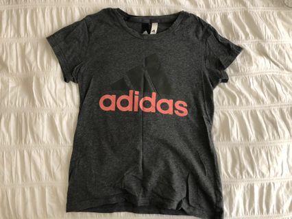 Adidas womens logo tee