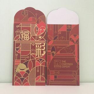 Nippon Paint Angpow / Chinese New Year Red Packets