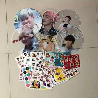 (WTS/SELLING) Clearing BTS grab bags !!