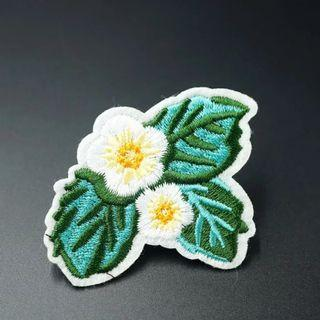 #816 flower floral tumblr iron on patch | po
