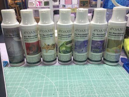 $59/1支 120ML OAXIZ - Air Revitalisor Concentrate (水溶生香薰油), 產品為多用途精油液,適用於水洗空氣淨化器