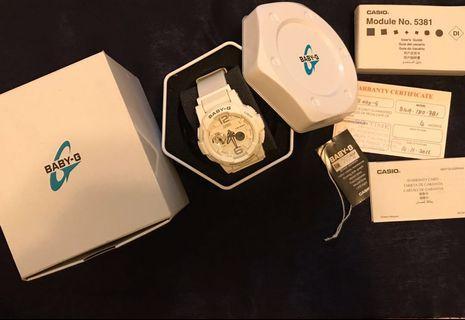 White Casio Baby-G BGA-180-7B1