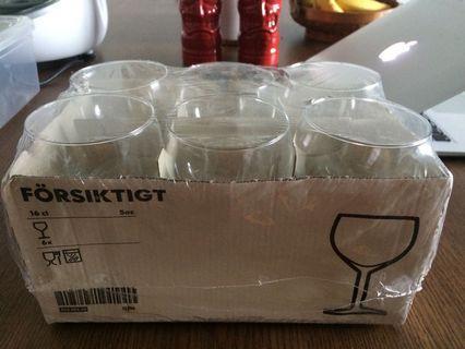 Ikea Champagne/Wine Glasses