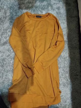 Mustard dress shirt