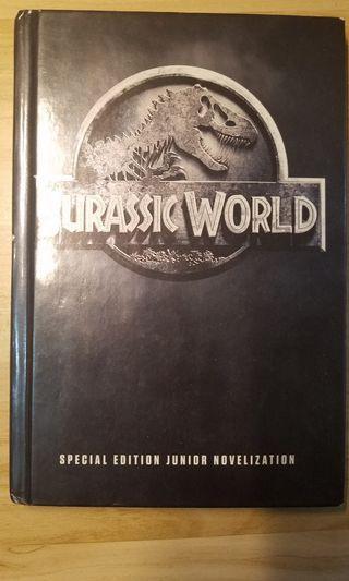 Jurassic world special edition 硬皮書