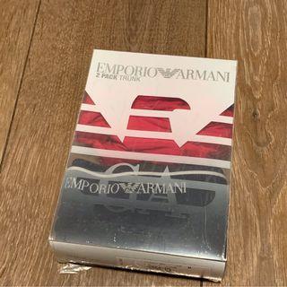 EMPORIO ARMANI men's underwear (EMPORIO ARMANI男裝兩條裝平腳內褲)