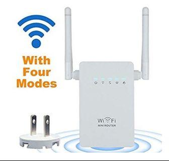 Wireless-N Mini Router (Black)