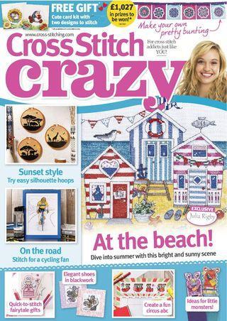 Cross stitch crazy 2017年7~12月 十字繡高清雜誌電子書HD PDF