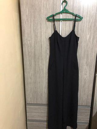 Black formal jumpsuit