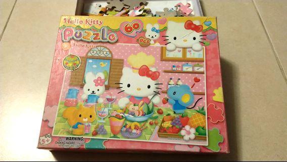 Hello Kitty Puzzle 60 pcs