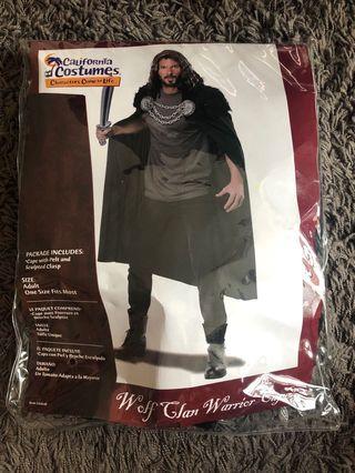 Halloween Costume: Wolf Clan Halloween Cape
