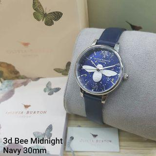 Olivia Burton  3D Midnight bee