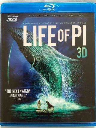 BD:Life of Pi 少年Pi的奇幻漂流 電影