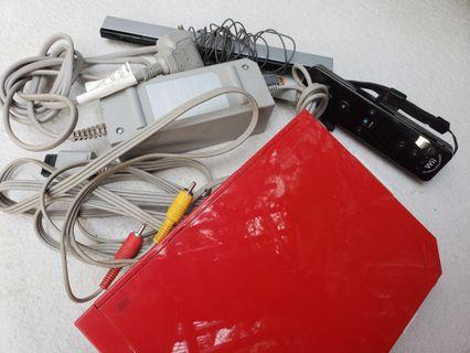 Nintendo Wii 紅色主機