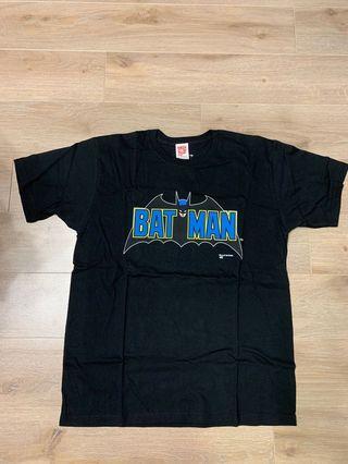 全新正品未剪牌 Medicom X Batman Tee T shirt Size L