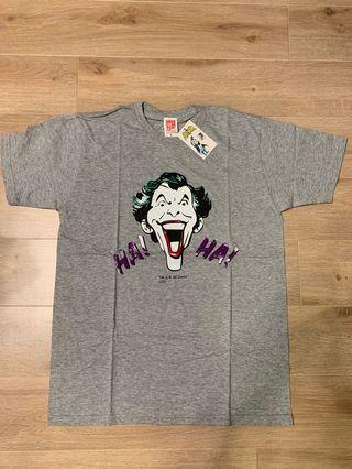 全新正版未剪牌 Medicom X Batman joker Tee T shirt Size L