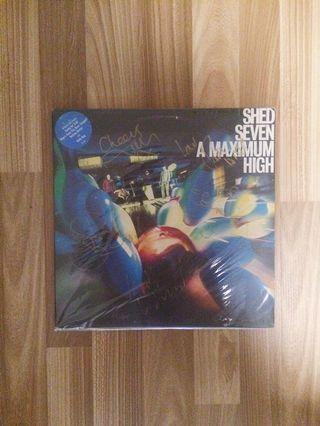 Vinyl LP Album : Shed Seven - A Maximum High Signed!