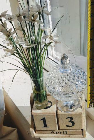 水晶玻璃擺設瓶