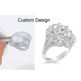 Realize your dreams with Custom Made Gem Jewelry. Never settle at what is available. We help you make what you craving for.