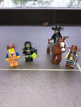 Lego Movie Getaway Glider Minifigures