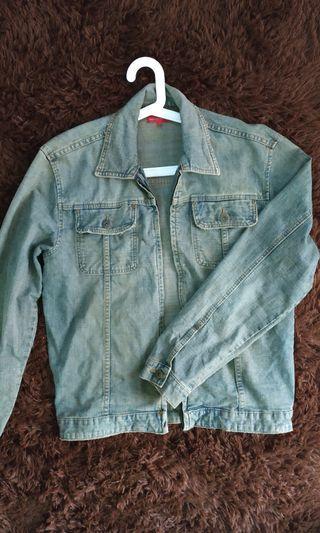 Padini Authentics Denim Jacket, vintage distressed Fade/wash