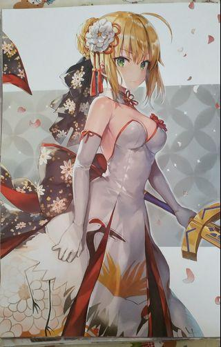 Fate Anime A3 Posters