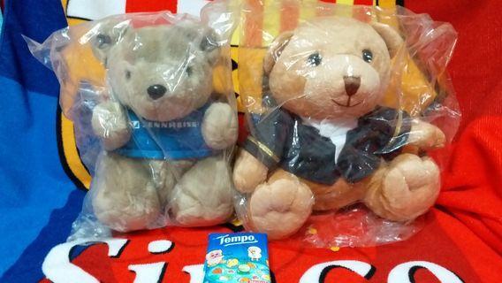 Sennheiser's bear & Gold Coast Hotel HK's bear