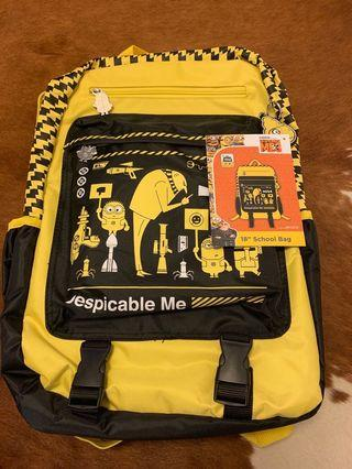 Despicable Me 3 School bag, Original price $379, brand new