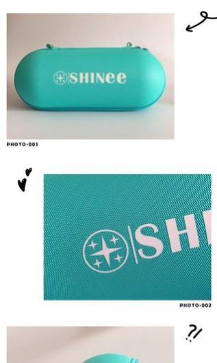 Shating Star Hardcase Pouch & Earphone Case by @5hineepouch2