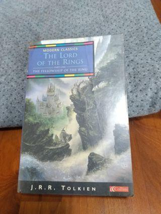 The lord of the rings book 1 the fellowship of the ring