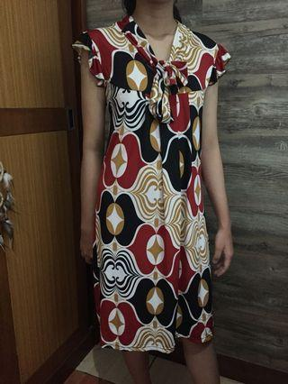 Red Arthalia Dress