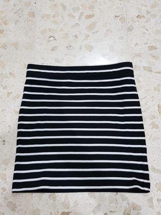 Stripe Skirt Forever 21