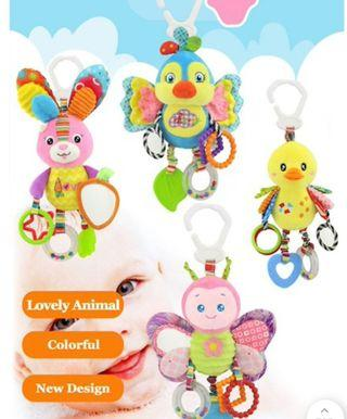 Baby toy teether rattle