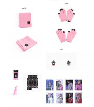 BLACKPINK Winter Edition Official Goods ♡ (LOOSE ITEM/FAST PREORDER)