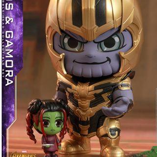 全新Avengers endgame cosbaby Thanos & Gamora box set  全新,免排隊