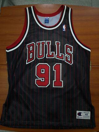 NBA Bulls 公牛 Rodman AU jersey