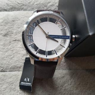 BN Armani Exchange Leather Watch