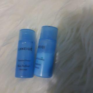 Laneige skin refiner sample kit