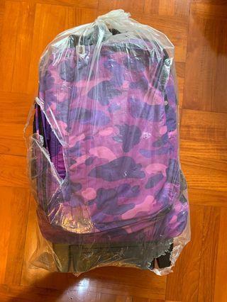 全新正版 A Bathing Ape 旅行喼 Travel Suitcase Bape Camo