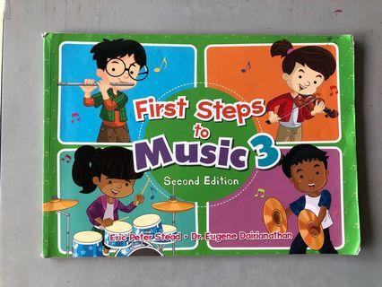 🚚 First Step to Music 3 Second Edition