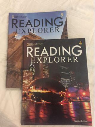 Reading Explorer 4 & 5 (2nd ed)
