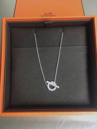 Hermes Finesses Diamond Necklace