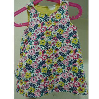 Reversible Girl Dress  12-18mths by Nutmeg