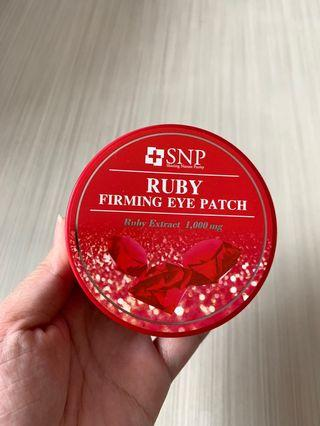 SNP Ruby Firming eye patch