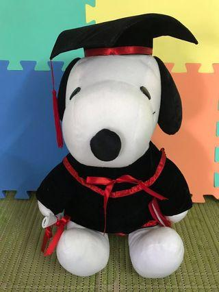 Snoopy Graduation Plush Toy