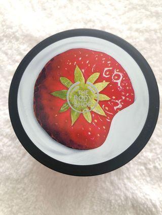 Body Shop strawberry body yoghurt