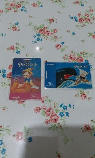 Pinocchio電話卡