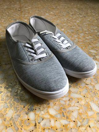 Grey Casual/Walking Shoes